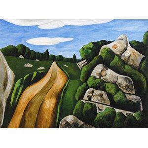 Summer Outward Bound Gloucester Art, 16x12