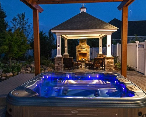 - Hot Tub Pergolas: A Marriage Made In Ancient Rome