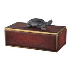Uttermost Neagan Chestnut Brown Box 20480