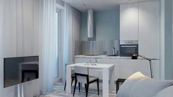 Проект 2-х комнатной квартиры в панельном доме