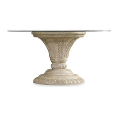 Hooker Furniture   Hooker Furniture Solana Round Dining Table, Base Only   Dining  Tables