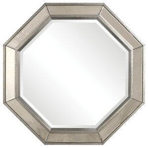 Adelina Octagonal Decorative Mirror Contemporary Wall Mirrors