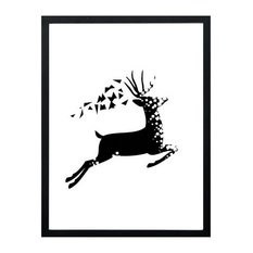 Modern Decoration Painting Dining Living Room Bedroom Wall Painting Running Deer