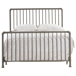 Industrial Panel Beds by Hillsdale Furniture