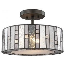 Craftsman Flush-mount Ceiling Lighting by Buildcom