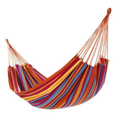 Awesome Clevr   Cotton Double Wide Rainbow Hammock   Hammocks And Swing Chairs