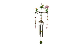 Frog Branch Wind Chime