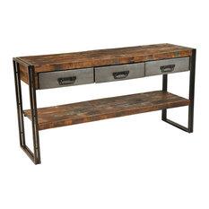 Brock 3-Drawer Sofa Table