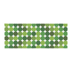 "KESS Original ""Noblefur Green"" Green Bed Runner"