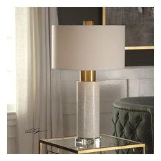 Uttermost Vaeshon Concrete Table Lamp