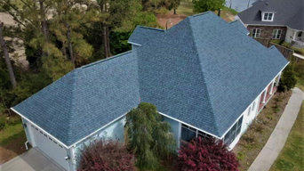 Roof Replacements - CertainTeed Atlantic Blue