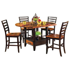 Steve Silver Abaco 9 Piece Counter Height Set With Leaf