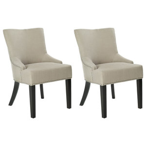 Safavieh Piper Dining Chairs, Set of 2, Eggshell