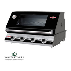 BeefEater S3000E Built In Series 4 Burner Cast Iron Gas BBQ