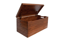 """Amish Toy Chest, Michaels Stain, 36"""", Oak Wood"""