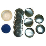DIY Cover Button Kits - Best tools for hand covering fabric buttons - Metal buttons made In USA.