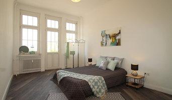 Vorher-Nachher Fotos einer gestagten Altbauwohnung in Soest
