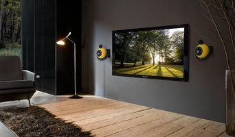 Spherical Hi-Fi acoustic speakers Sound Lamps