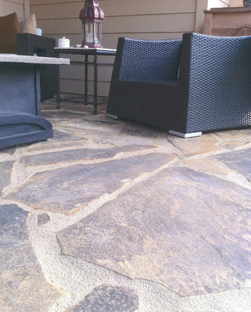 How to fill flagstone patio ideas, pictures, remodel and decor