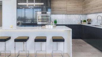 Midtown Penthouse Kitchen