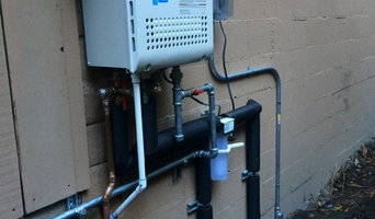 New tankless water heater install and relocation