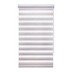 Sheer Zebra Shade, White, 52x60