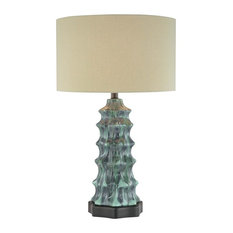 Minka Aire Lavery 1 Light Table Lamp Multi Colored Lamps