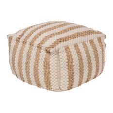 Oak Cove Cube Pouf