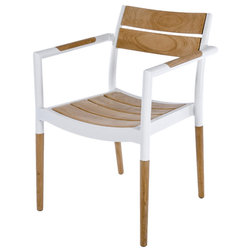 Midcentury Outdoor Dining Chairs by Westminster Teak