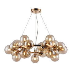 Dallas Sputnik 25-Light Chandelier, Gold