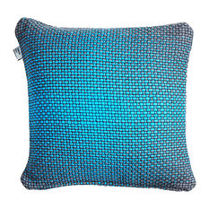 Simon Key Bertman Textile Design & Art - Double-Sided Gradient Cushion Cover, Blue - Scatter Cushions