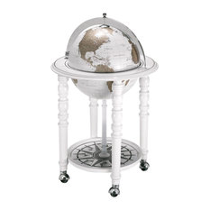 The MacArthur Contemporary Italian Bar Globe, White