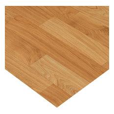 """Rubber-Cal """"Terra-Flex Oak"""" Premium Flooring Rolls - Golden Oak, 5'x57'"""