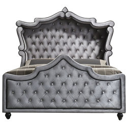 Traditional Panel Beds by Meridian Furniture