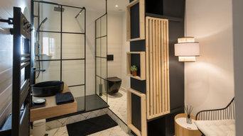 Réhabiliation t relooking d'un appartement centre ville de Nimes