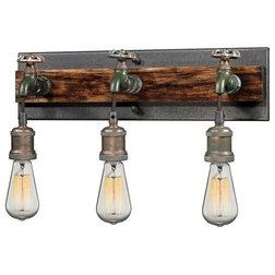 Industrial Bathroom Vanity Lighting by Mylightingsource