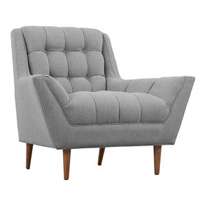 Modway Response Upholstered Fabric Accent Chair
