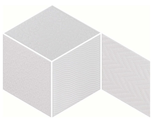 Rhombus White - Wall & Floor Tiles