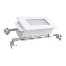 "NICOR 15803LWLC 10"" White LED Step Light, 3000K, Wet Location Rated"