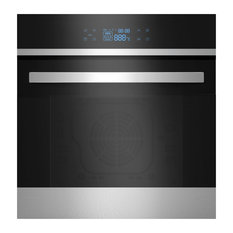 """Empava 24"""" LED Digital Touch Controls Electric Built-in Single Wall Oven, 220v"""