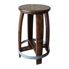 alpine wine design swivel wine barrel barstool red mahogany finish bar stools and alpine wine design outdoor finish wine barrel