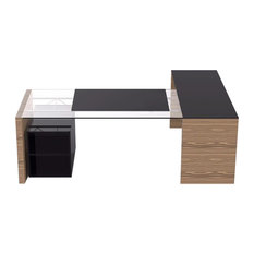Iris Executive Corner Desk, Medium