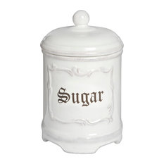 Baytree Interiors - Sugar Canister - Kitchen Canisters And Jars