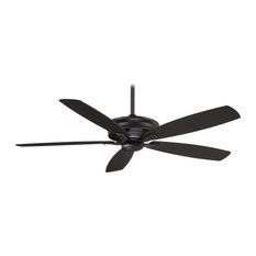 MinkaAire Kafe-XL Kafe-XL 5 Blade 60 Energy Star Indoor Ceiling Fan with Remote