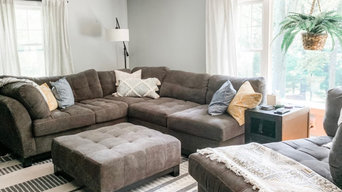 Wooded Retreat - Living Room