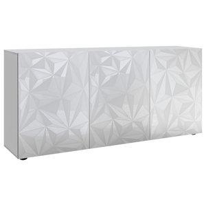 Prisma II Decorative Sideboard, 181 cm, White