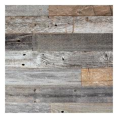 Reclaimed Barn Wood Planks, 40 Sq. ft.