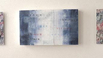 Wandobjekte mit Schrift/Kalligraphie