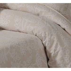 Fareham Duvet Cover Set, Linen, Single 135x200 cm