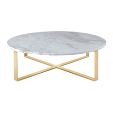 Trendy StoneTop Metal Coffee Tables for 2018 Houzz